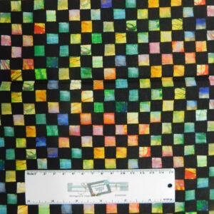 Quilting Patchwork Fabric WILD MOSAIC TILES 50x55cm FQ