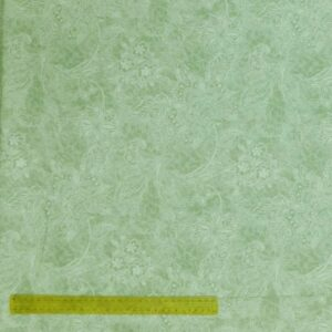 Quilting Patchwork Fabric APPLE GREEN SHADOWS Wide Backing 300x50cm New