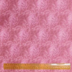 Quilting Patchwork Fabric DUSTY ROSE Wide Backing 275x50cm New