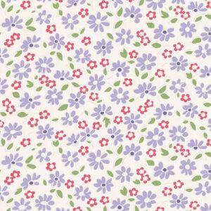 Quilting Patchwork Fabric TILDA BON VOYAGE LILIT BLUE 50x55cm FQ