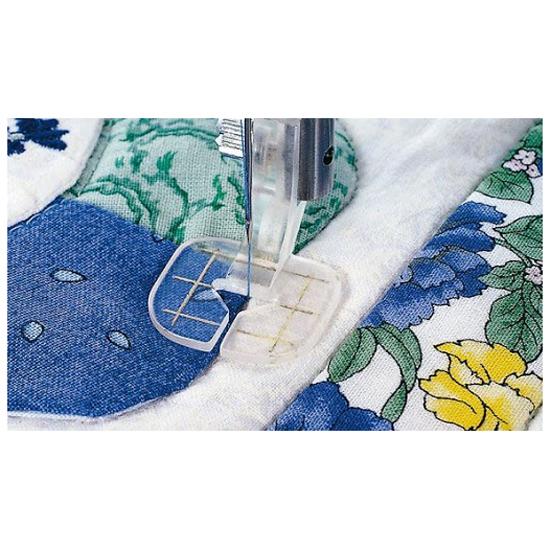 Husqvarna Viking Plastic Free Motion Guide Sewing Machine Foot