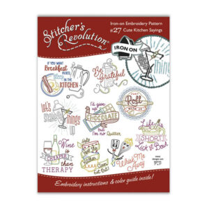 Quilting Sewing Embroidery Hot Iron On Transfers Cute Kitchen Sayings