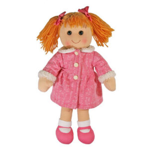 Hopscotch Lovely Soft Rag Doll BILLIE Girl Dressed Doll Large 35cm