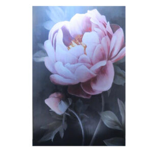 French Country Canvas Print MIDNIGHT FLORAL ROSE 2 60x90cm