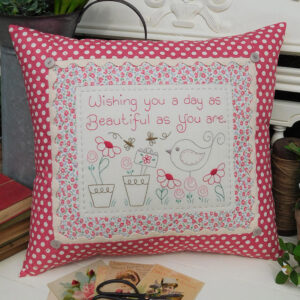 Quilting Sewing Cushion Pattern BIRTHDAY WISHES Rivendale Collection