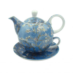 Elegant Kitchen China Van Gogh Almond Blossom Tea For One Set