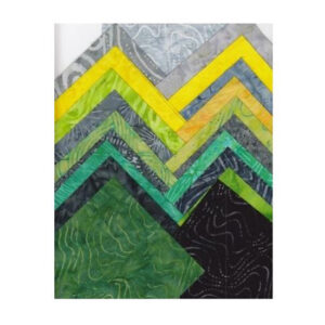 Quilting LAYER CAKE Patchwork Batik Australia LEMON LIME 10 Inch Fabrics