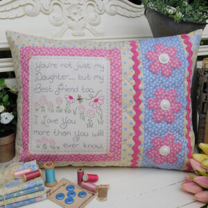 Quilting Sewing Cushion Pattern MY DAUGHTER Rivendale Collection