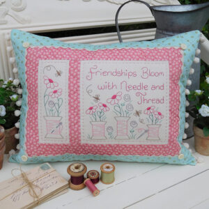 Quilting Sewing Cushion Pattern NEEDLE AND THREAD Rivendale Collection