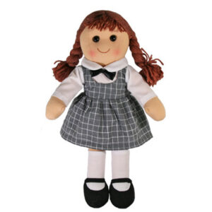 Hopscotch Lovely Soft Rag Doll PENELOPE Girl Dressed Doll Large 35cm