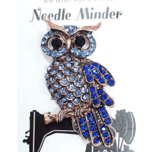 Sew Better Cross Stitch Needle Minder Keeper CRYSTALS OWL