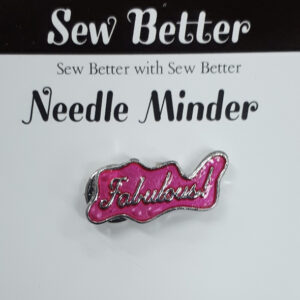 Sew Better Cross Stitch Needle Minder Keeper FABULOUS