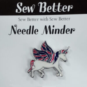 Sew Better Cross Stitch Needle Minder Keeper UNICORN