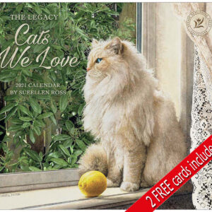2021 Legacy Calendar CATS WE LOVE Calender Fits Lang Wall Frame