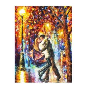 5D Diamond Painting Full Image Squares STREET DANCING 40x50cm
