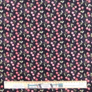 Quilting Patchwork Fabric CHERRY FRESH 50x55cm FQ Material