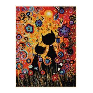 Cross Stitch Kit GOUACHE CAT X Stitch Joy Sunday Incl Cat