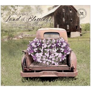 Legacy 2021 Calendar LAND OF BLESSINGS Calender Fits Lang Wall Frame