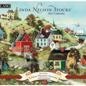 Lang 2021 Calendar LINDA NELSON STOCKS Calender Fits Wall Frame