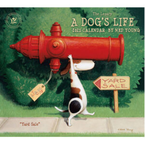 Legacy 2021 Calendar A DOGS LIFE Calender Fits Lang Wall Frame