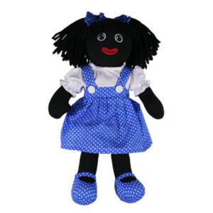 Hopscotch Lovely Soft Rag Doll BECKY Girl Dressed Doll Large 35cm
