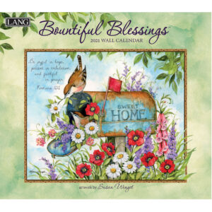 Lang 2021 Calendar BOUNTIFUL BLESSINGS Calender Fits Wall Frame