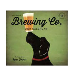 Legacy 2021 Calendar BREWING COMPANY Calender Fits Lang Wall Frame