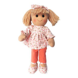 Hopscotch Lovely Soft Rag Doll CHLOE Girl Dressed Doll Large 35cm