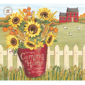 Legacy 2021 Calendar COMING HOME Calender Fits Lang Wall Frame