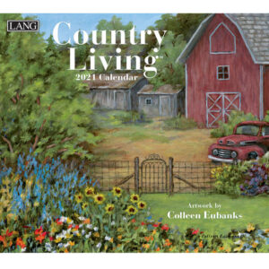 Lang 2021 Calendar COUNTRY LIVING Calender Fits Wall Frame