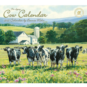 Legacy 2021 Calendar COW Calender Fits Lang Wall Frame
