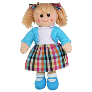 Hopscotch Lovely Soft Rag Doll ELOISE Girl Dressed Doll Large 35cm