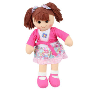 Hopscotch Lovely Soft Rag Doll EMMA Girl Dressed Doll Large 35cm