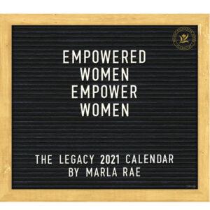 Legacy 2021 Calendar EMPOWERED WOMEN Calender Fits Lang Wall Frame