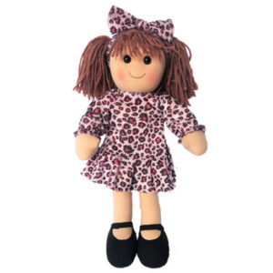 Hopscotch Lovely Soft Rag Doll EVELYN Girl Dressed Doll Large 35cm