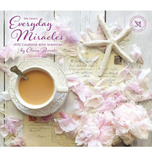 Legacy 2021 Calendar EVERYDAY MIRACLES Calender Fits Lang Wall Frame