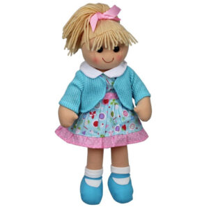 Hopscotch Lovely Soft Rag Doll HAZEL Girl Dressed Doll Large 35cm