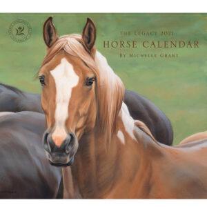 2021 Legacy Calendar HORSE Calender Fits Lang Wall Frame