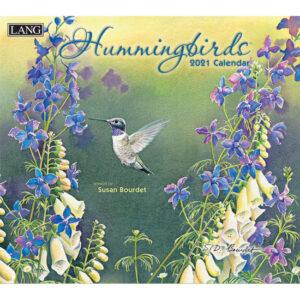 Lang 2021 Calendar HUMMINGBIRDS Calender Fits Wall Frame