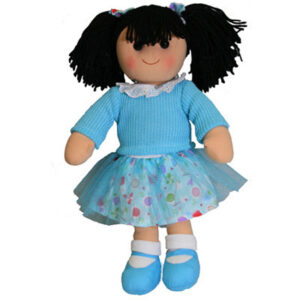 Hopscotch Lovely Soft Rag Doll JESS Girl Dressed Doll Large 35cm