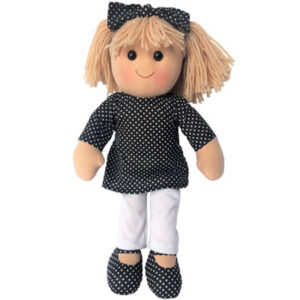Hopscotch Lovely Soft Rag Doll KATE Girl Dressed Doll Large 35cm