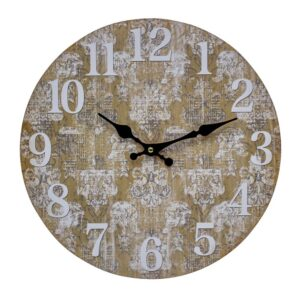 Clocks Wall Hanging Rustic Grunge Moroccan Clock 34cm