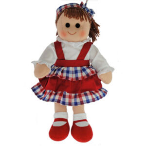Hopscotch Lovely Soft Rag Doll MACKENZIE Girl Dressed Doll Large 35cm