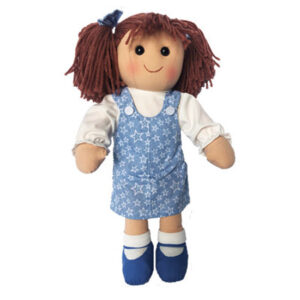 Hopscotch Lovely Soft Rag Doll MILLIE Girl Dressed Doll Large 35cm