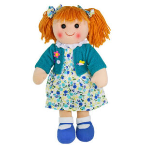 Hopscotch Lovely Soft Rag Doll PHOEBE Girl Dressed Doll Large 35cm