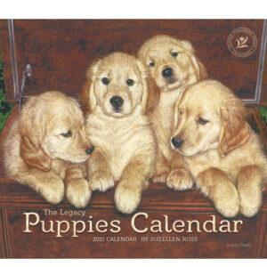 Legacy 2021 Calendar PUPPIES Calender Fits Lang Wall Frame