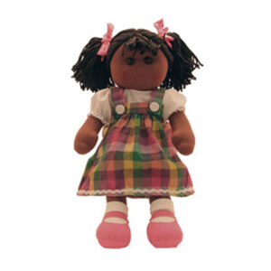 Hopscotch Lovely Soft Rag Doll RIHANNA Girl Dressed Doll Large 35cm