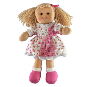Hopscotch Soft Rag Dressed Doll SIENNA Girl Doll Medium 25cm