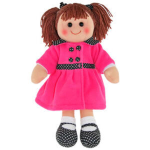 Hopscotch Lovely Soft Rag Doll SOFIA Girl Dressed Doll Large 35cm