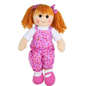 Hopscotch Lovely Soft Rag Doll SUMMER Girl Dressed Doll Large 35cm